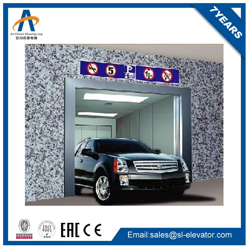 small hydraulic lift elevator parking system in ground car lift