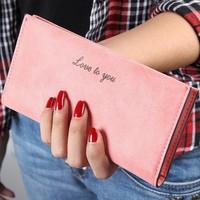 2015 New Arrival High Quality Women Wallet Ladies Purses Brand Women's Clutch Hhone Bag Candy Color Woman Long Desgin Purses