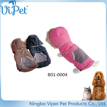 The pet dog clothes and red costume cotton padded jacket thick winter clothing