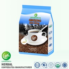 Lifeworth wholesale malaysia tongkat ali instant herbal iced ginseng coffee