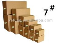 Number three layers aa 7 cartons/paper packaging box/Corrugated paper