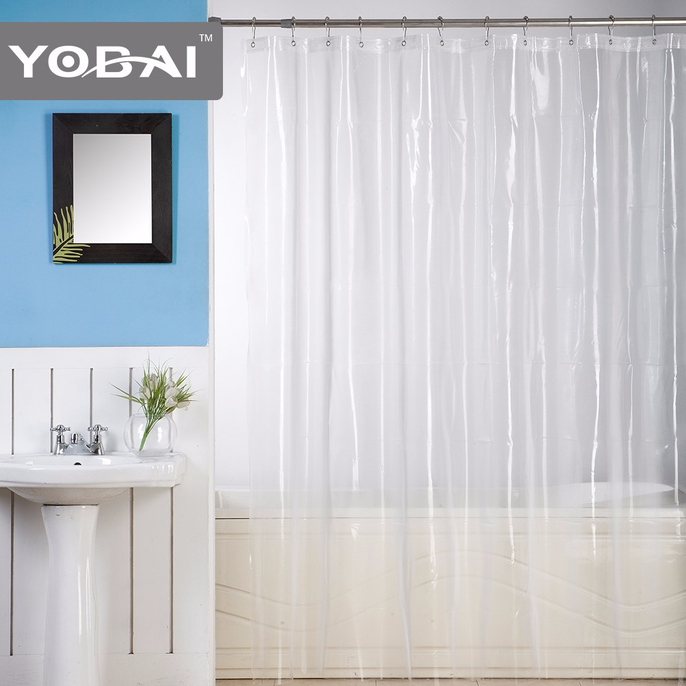Corner Shower Curtain