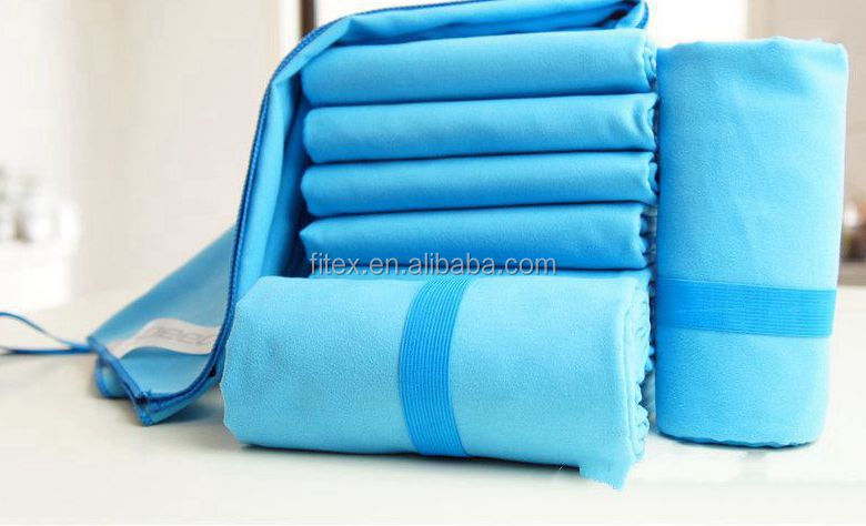 customized plain colors microifber towel/cleaning cloth