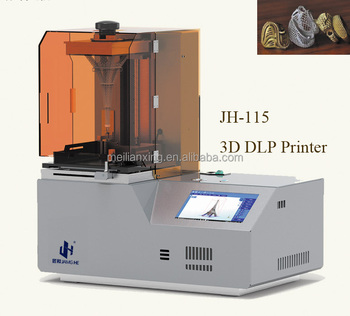 2017 Best resin 3D DLP Printer / high resolution 3D printer / 3D printer for jewelry and dental