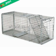 "32""x10""x12"" Galvanized Live Rabbit Trap Cage, Professional Factory"