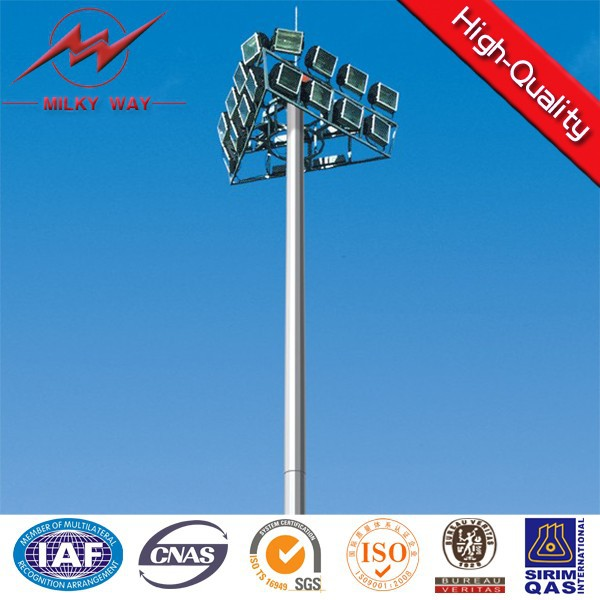 new design high mast lighting price for pole and monopole tower with specification