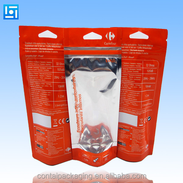 Stand up Pouch/Retail Plastic Bag customize coffee zip lock bags