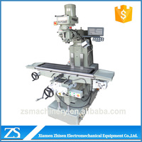 Industrial benchtop small vertical turret milling machine
