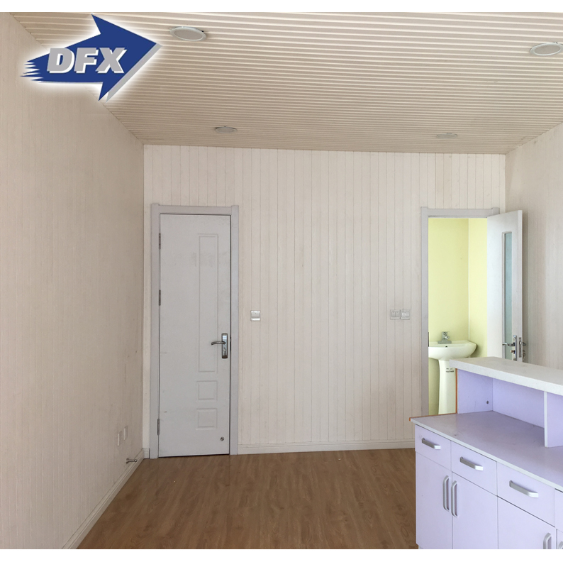 China Mobile Detachable 20 Feet Flat Packed Container House