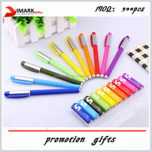 xiaomi battery colorful gel ink pen ,kids color gel ink drawing pen