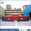 2017 Guangzhou HUALE latest style oxford cloth inflatable maze with entertainment park