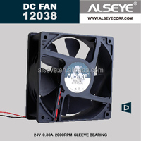 Alseye CB34 manufacture 12 volt dc brushless cooling fan with Auto Restart Protections or General Options function