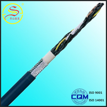 mylar screened cable/flexible control cable