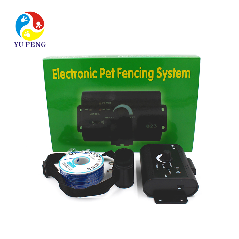 VS-023 dog training shock collar smart trainer Pet Fencing System