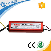 2 years warranty waterproof IP65 50W 30-36V LED driver PFC driver LED 50W constant voltage led driver