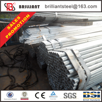 different types of pipes hot dipped steel tubes galvanized rectangular tube