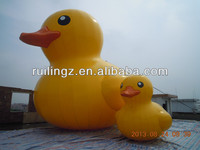 promotion duck, large inflatable animal for advertising