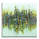 Handmade abstract wall art beautiful scenery oil painting on canvas