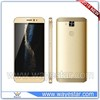 Gold mt65xx android phone 5.1 OS 3g mobile phone