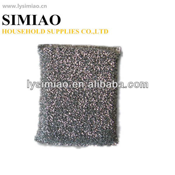 silver scouring pad for kichen cleaning