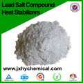 Lead salt compound heat stabilizer for pipes/ dust-free