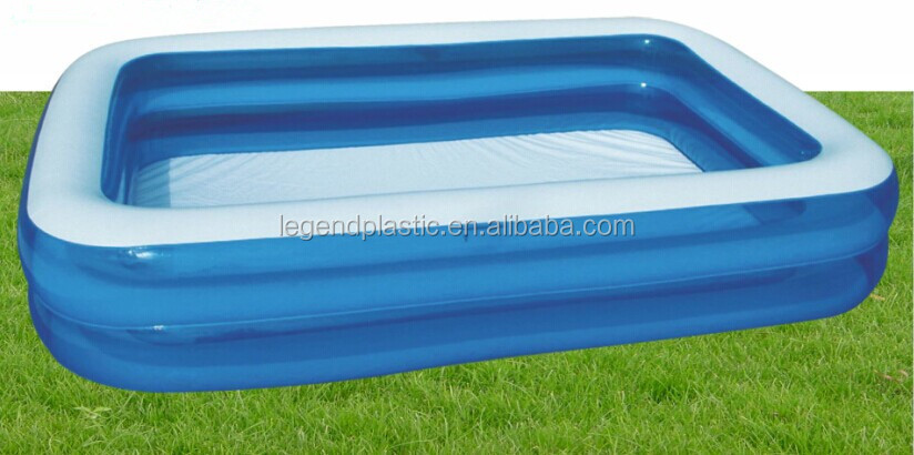 inflatable adult swimming pool giant rectangle pool - Rectangle Inflatable Pool
