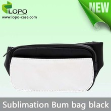 customized sublimation blank bum bag waist bag
