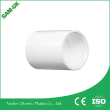ISO9001 Certificate SCH 40 2 inch coupling sizes UPVC fitting