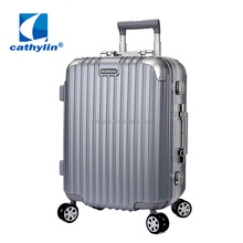 2015 Cathylin trolley travel hardshell PC ABS luggage