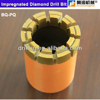 diamond core drill bits for hard rock