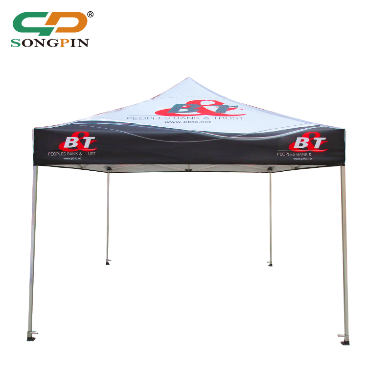 wholesale Automatic pop up 3X3 stretch fabric waterproof food canopy tent