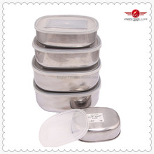 Wholesale Stainless Steel Food Storage Container With PP Lid