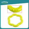 TPR Rubber Pets Dogs Puppy Dental Teething Biting Teeth Gums Chew Ring Play Toy For Dog