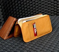 New soft leather cover for iphone multi function mobile phone case wallet