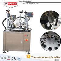 Automatic Compound Tube Filling and Sealing Machine