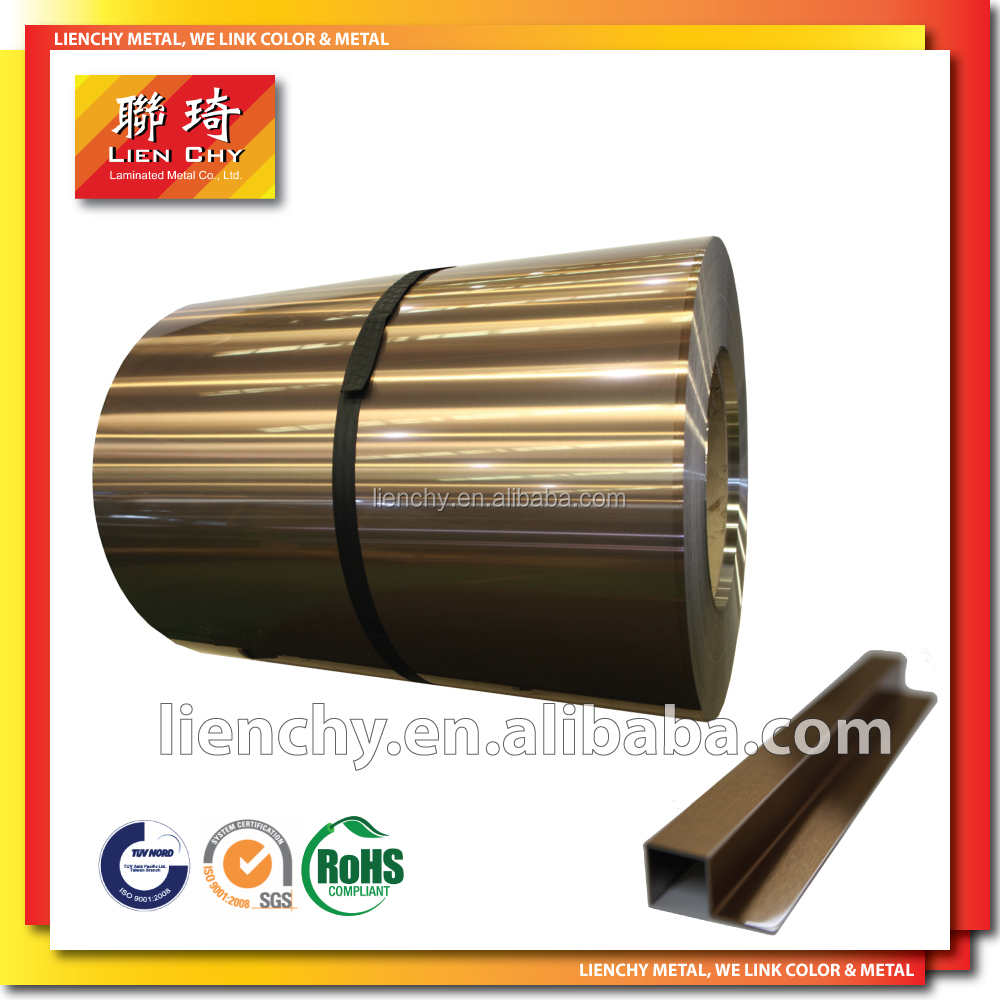 Inox Color Coating Stainless Steel Anti-Fingerprint Coating