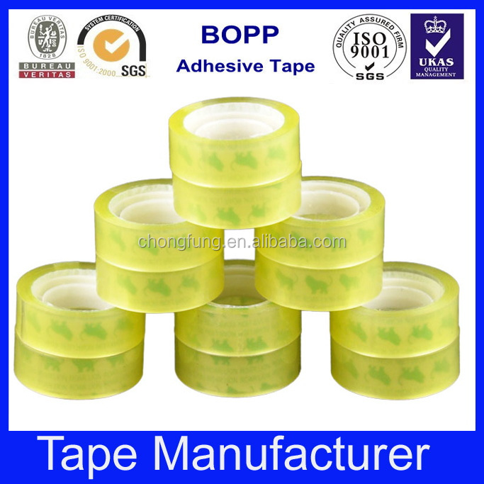 Acrylic bopp adhesive stationery clear tape
