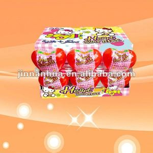 heart surprise toy candy/ confectionery toy