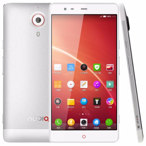 Original ZTE Nubia X6 6.4 inch CGS Screen 4G Android 4.3 Smart Phone, Qualcomm Snapdragon801 MSM8974AB Quad Core 2.3GHz, RAM: 2G