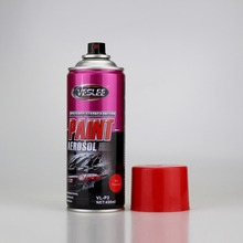 car aerosol product non toxic environmental acrylic water based spray paint 12 can