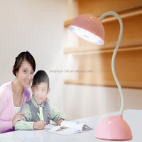 MFGA Flexible Battery Operated Portable Charging LED Desk Lamp For Reading