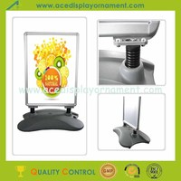 water tank base poster stand outdoor banner stand