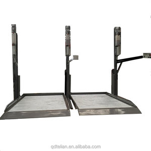 used motorcycle lifts robotech two post car parking lift