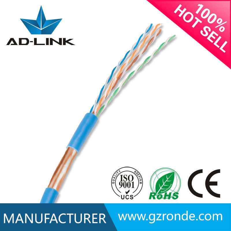 Factory Price FTP Cat5e Lan Cable 4PR 24AWG D-link Patch Cord Cable 1000M UTP Cat5e Lan Cable