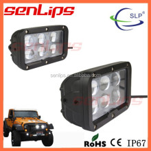 SENLIPS 60W LED WORK LIGHT 10W/PC LED DRIVING LIGHT BAR 4WD OF CAR LIGHT