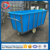 China factory rotomolding laundry cart plastic container made of lldpe