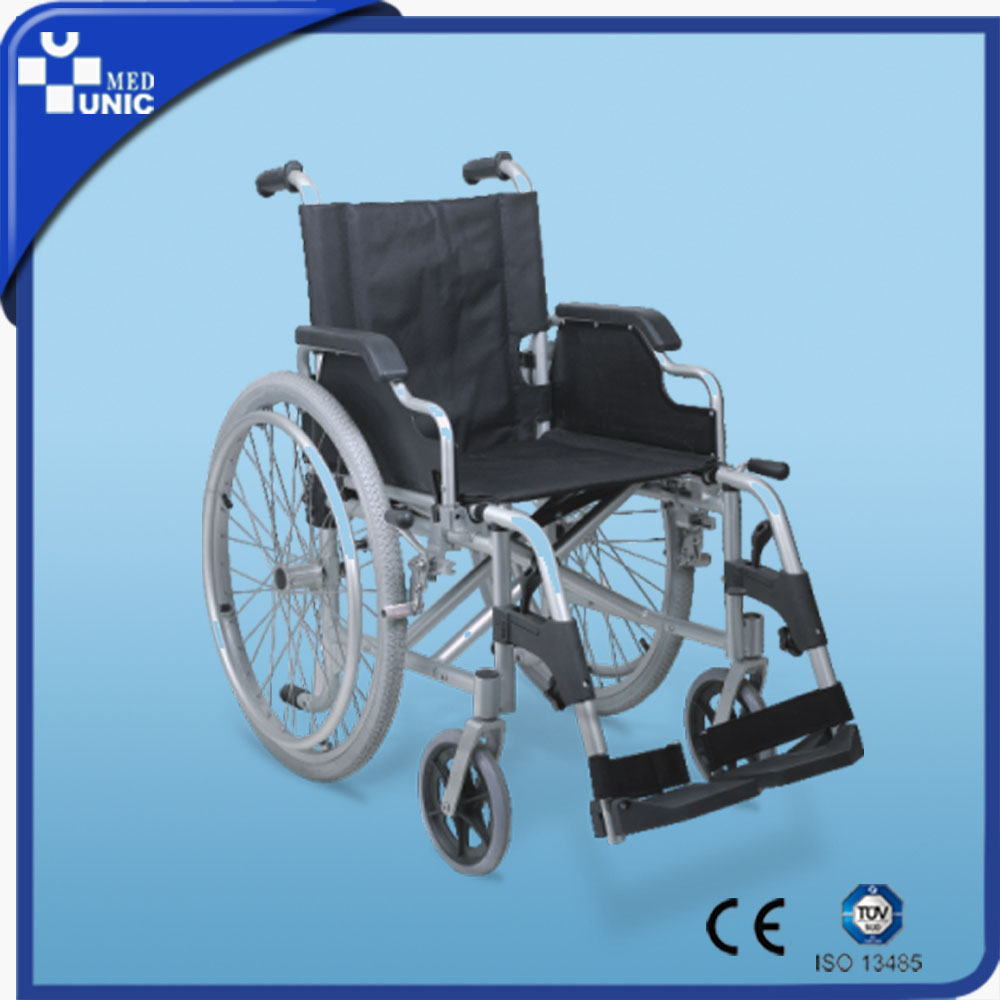CE FDA Aluminum Alloy Manual hospital wheelchair