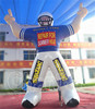 OEM cartoon PVC advertising inflatable baseball players CHAD353