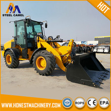 Garden machine equipment replaceable device front end wheel loader
