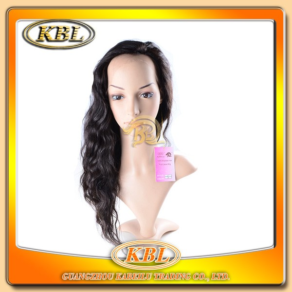 Tangle free human hair full lace wig made in america wigs